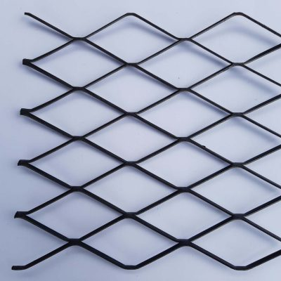 5020 Expanded Metal Sheet: 87 x 43mm Openings