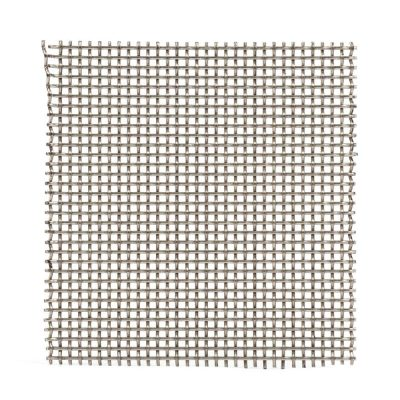 M00822 Fine Woven Wire Mesh Per Metre: 2.5mm Openings